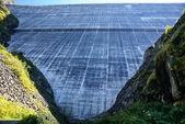 Dam Grand Dixence. SwitzerlandDixence. Switzerland. Lake Dix — Stock Photo
