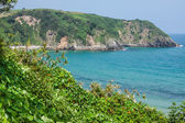 Strand pechon, kantabrien, spanien — Stockfoto