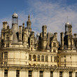 Stock Photo: Chambord castle is located in Loir-et-Cher, France. It has ver