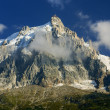 CHAMONIX: Aiguille du Midi, Mont-Blanc, Chamonix, France. — Stock Photo