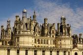 尚博尔城堡坐落在卢瓦尔 et-雪儿,法国。它具有 ver — 图库照片