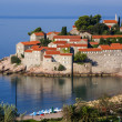 Stock Photo: Sveti Stefis islet nearby Budvin Montenegro