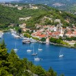 Skradin - small city on Adriatic coast in Croatia, at the entran — Stock Photo #39527291