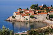 Sveti Stefan is a islet nearby Budva in Montenegro — Stock Photo
