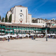 View of historic small town Chinchon near Madrid — Stock Photo #39648669