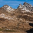 Stock Photo: Pyrenees mountains fronterdel Portalet, Huesca, Aragon, Spain