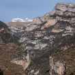 Stock Photo: Pinnacles in Anisclo Valley, OrdesNational Park, Pyrenees, Hue