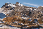 Pyrenees mountains frontera del Portalet, Huesca, Aragon, Spain — Stock Photo