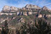 вершин в долине anisclo, национальный парк ордеса, пиренеи, хюэ — Стоковое фото