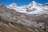 Monte Perdido in Ordesa National Park, Huesca. Spain. — Stock Photo