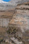 Monte perdido v národním parku ordesa, huesca. španělsko. — Stock fotografie