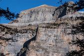 Monte perdido i ordesa nationalpark, huesca. spanien. — Stockfoto