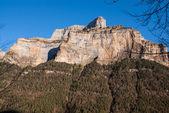 Scenic view of famous Ordesa Valley, NP Ordesa y Monte Perdido, — Stock Photo