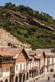 Pohled na staré ulice a budovy getaria, Španělsko, Evropa — Stock fotografie