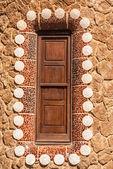 Barcelona park Guell fairy tale mosaic house on entrance — Stock Photo