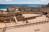A view of the roman amphitheater in Tarragona, Spain — Stock Photo