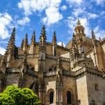 Segovia Cathedral, a Roman Catholic religious church in Segovia, — Stock Photo #41065175