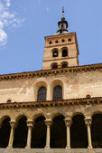 Iglesia de San Esteban (San Esteban Church), Segovia, Spain — Stock Photo