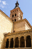 Iglesia de san esteban (san esteban kyrka), segovia, Spanien — Stockfoto