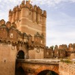 Coca Castle (Castillo de Coca) is a fortification constructed in — Stock Photo