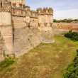 Stock Photo: Coca Castle (Castillo de Coca) is a fortification constructed in