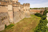 Coca Castle (Castillo de Coca) is a fortification constructed in — Stock Photo