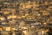 Uitzicht op fez medina (oude stad van fes), Marokko — Stockfoto