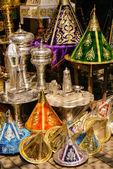 Souvenirbutik i medina i fes, marocko — Stockfoto