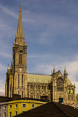 St. Colman's neo-Gothic cathedral in Cobh, South Ireland — Stock Photo