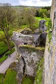 Overhead aerial view of Blarney Castle, Ireland — Stock Photo