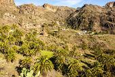 Beautiful mountain scape panorama in Gran Canaria, Spain — Stock Photo