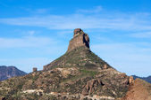 View of Roque Nublo Gran Canaria in the Canary Islands — Stock Photo