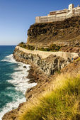 Coast line view in the gran canarias — Stock Photo
