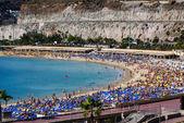 Playa de Amadores, Puerto Rico, Gran Canaria — Stock Photo