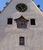 Town Square of Slovakian Bardejov — Stock Photo