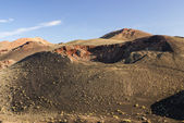Mountains of fire, Montanas del Fuego, Timanfaya National Park i — Stock Photo