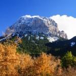Mountains in Ordesa National Park, Pyrenees, Huesca, Aragon, Spa — Stock Photo #43396527