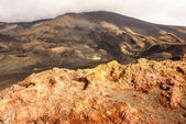 Etna volcano craters in Sicily, Italy — Stock Photo