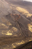 Etna volcano craters in Sicily, Italy — Stockfoto