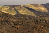 View of the volcanic landscape around Mount Etna — Stock Photo