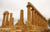 Ruiny świątyni Concordia, Kotliny świątyń, agrigento, s — Zdjęcie stockowe