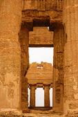 τα ερείπια του ναού του concordia, κοιλάδα των ναών, αγκριτζέντο, s — Φωτογραφία Αρχείου