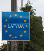 EU signs series - Slovenia, photo realistic — Stock Photo