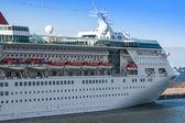 Passenger ships at the port of Stavanger, Norway — Stock Photo