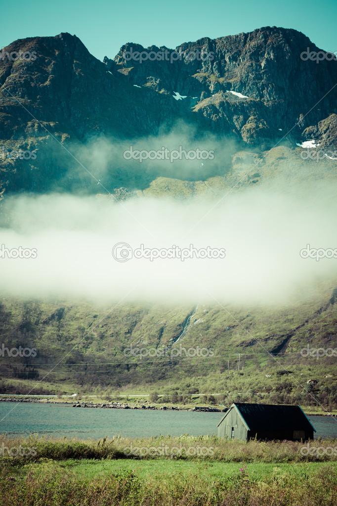 北挪威风景– 图库图片