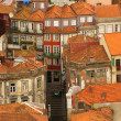 Thin houses in old town, Porto, Portugal — Stock Photo #45857257