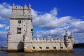 Belem tower in Lisbon - Portugal — Stock Photo