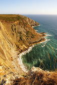 Landscape of the Portuguese coastline (Cabo Espichel) — Stock Photo