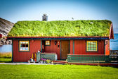 Old traditional house in Norway — Stock Photo