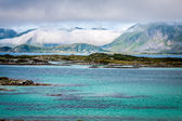 Beautiful landscape of north Norway, Scandinavia — Foto Stock